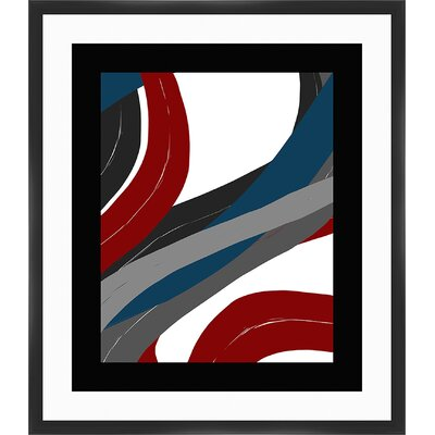 Deep Colour Lines I Framed Painting Print 2-14186A