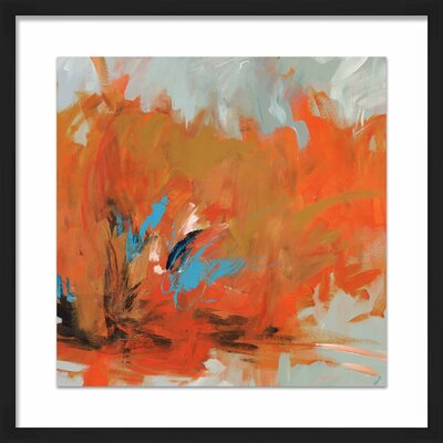 'Red Hot' Framed Painting Print 1-33296