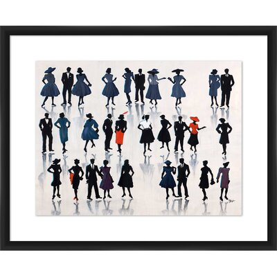 'Skirts and Suits' Framed Painting Print 1-33263