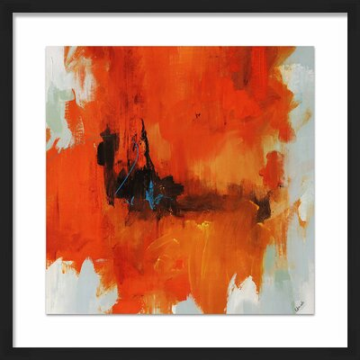 'Red Tail I' Framed Painting Print 1-33297