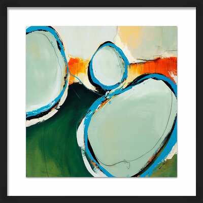 'Perfect Match II' Framed Painting Print 1-33332