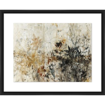'Resin Floral' Framed Painting Print 1-33365