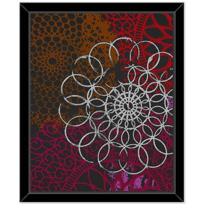 'Halos' Framed Graphic Art Print on Canvas