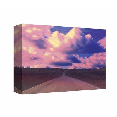 'Sunset Street 2' Print on Canvas
