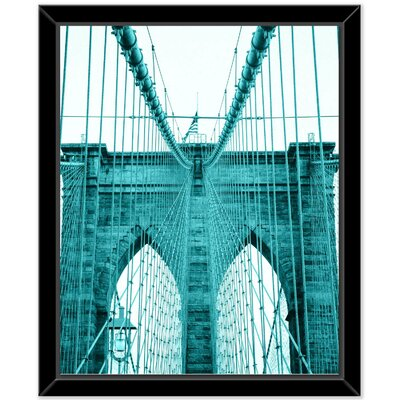 'City' Framed Photographic Print on Canvas