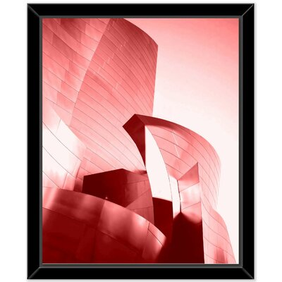 Framed Graphic Art Print on Canvas
