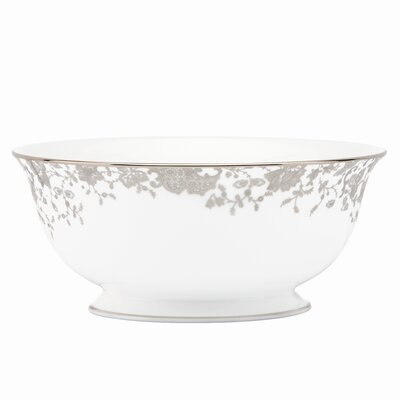 French Lace Serving Bowl