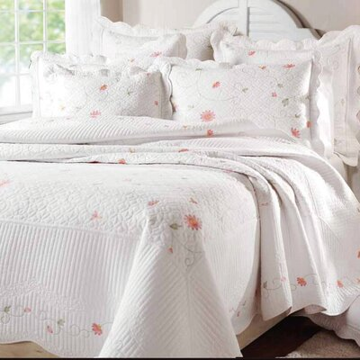 Cotton Quilt Set Size: King (with King Shams)