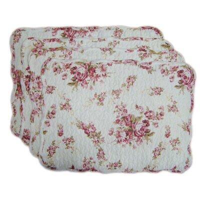 D'alouette Spring Rose Placemat Color: Vintage Rosie
