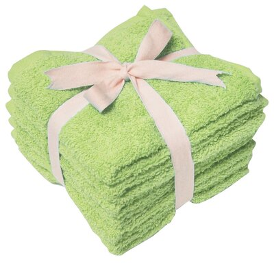 Heavy Weight Wash Cloth Color: Kiwi