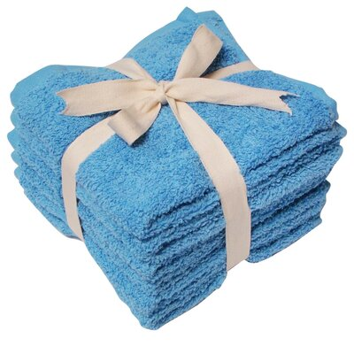 Heavy Weight Wash Cloth Color: Sky Blue