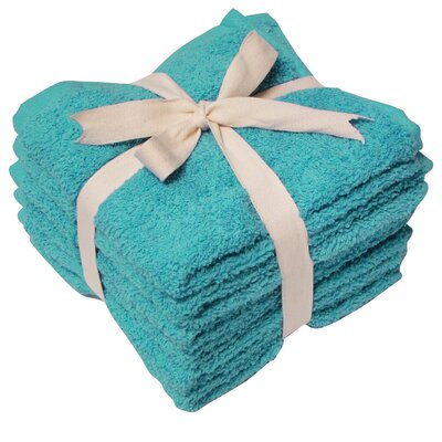 Heavy Weight Wash Cloth Color: Teal