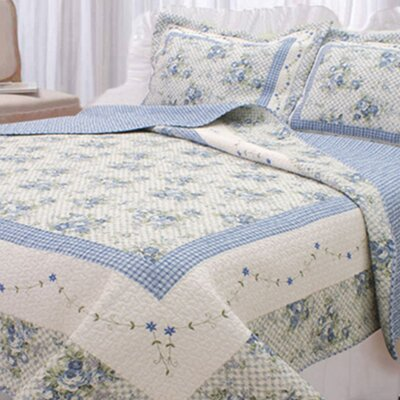 Essonnes Reversible Quilt Set Size: King
