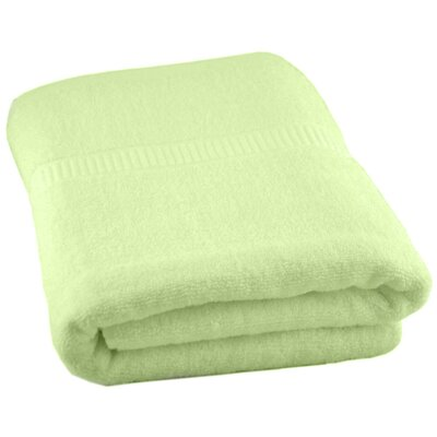 Luxury Oversized Bath Towel Color: Celery