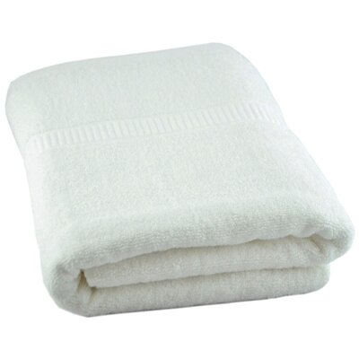Luxury Oversized Bath Towel Color: White