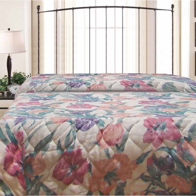 Spring Time Hotel Jacquard Bedspread Size: Full