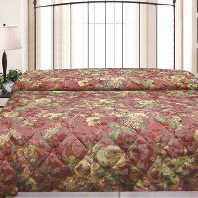 Vintage Hotel Jacquard Bedspread Size: Full