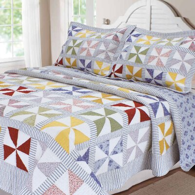 Carnival Patchwork Quilt Size: Full/Queen