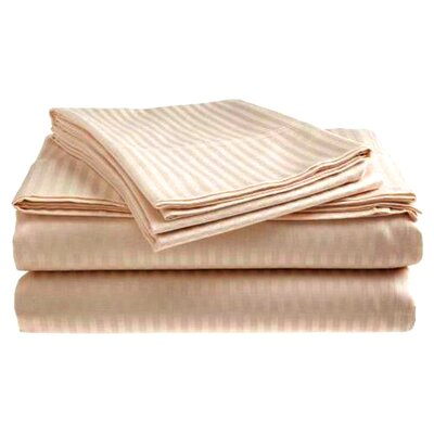 Hotel Stripped Pillow Case Size: 20 H x  40 W