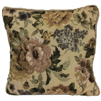 Askew Golden Romance Throw Pillow