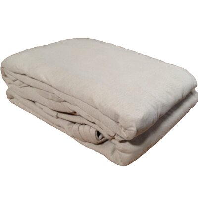 Solid Jersey Knit Sheet Set Size: Twin, Color: Taupe
