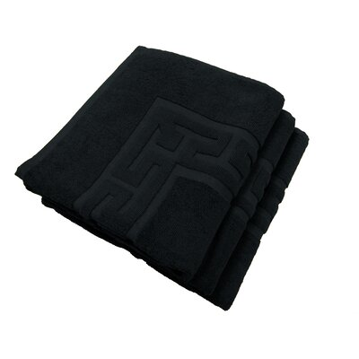 Tub Mat Set Color: Black