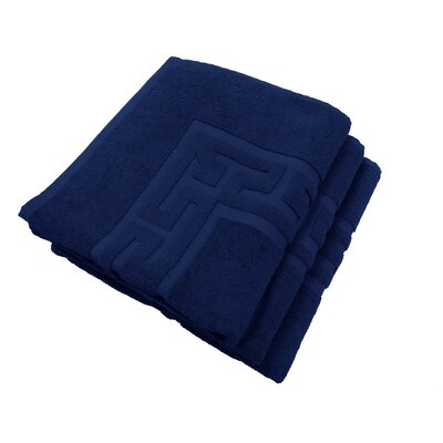 Tub Mat Set Color: Midnight Blue
