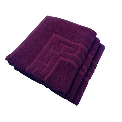Tub Mat Set Color: Dark Purple