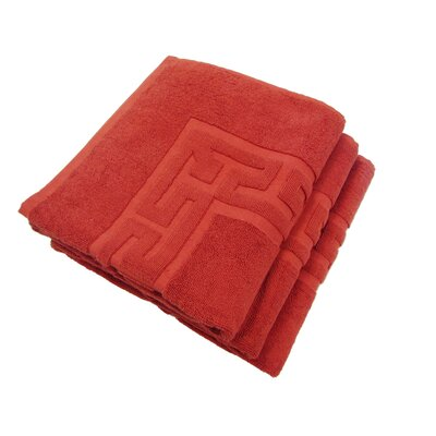 Tub Mat Set Color: Rust
