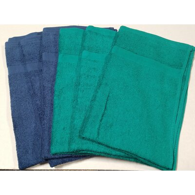 Assorted All Purpose 6 Piece Hand Towel Set