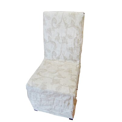Dining Chair Slipcover Upholstery: Taupe