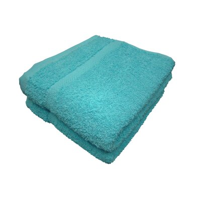 Michael Hand Towel Color: Teal