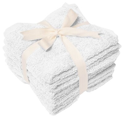 Heavy Weight Wash Cloth Color: White