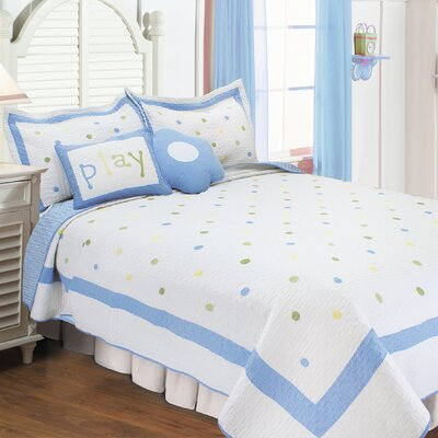 Quilt Set Size: Full / Queen, Color: Sky Blue