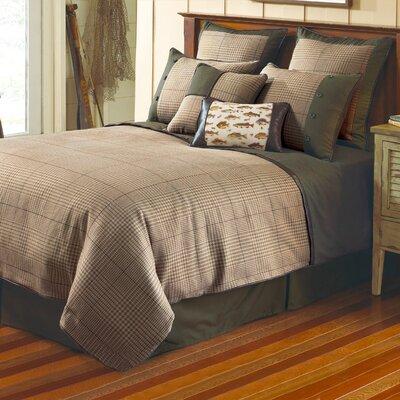 Yarn Dye Jacquard Comforter Set Size: Queen