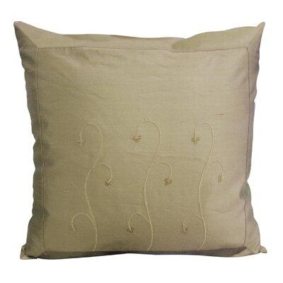 Indian Throw Pillow Color: Linen