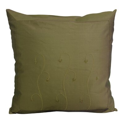 Indian Throw Pillow Color: Sage