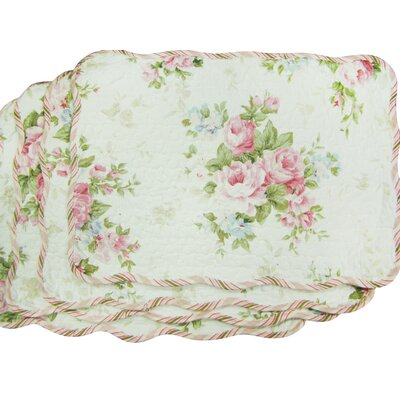 D'alouette Spring Rose Placemat
