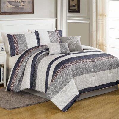 Metropolitan 6 Piece Comforter Set Size: King