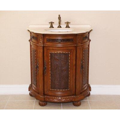 Anna 31 Single Demilune Bathroom Vanity Set