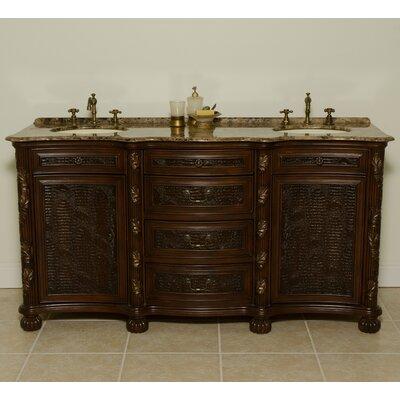 Canterbury 67 Double Bathroom Vanity Set