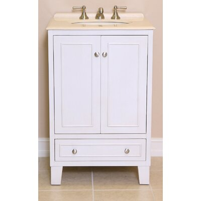 Minnie 24 Single Bathroom Vanity Set