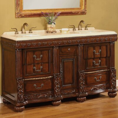 Kent 60 Double Bathroom Vanity Set