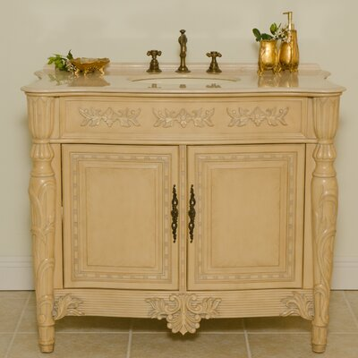 Miami 42 Single Bathroom Vanity Set
