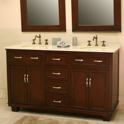 Bolton 60 Double Bathroom Vanity Set