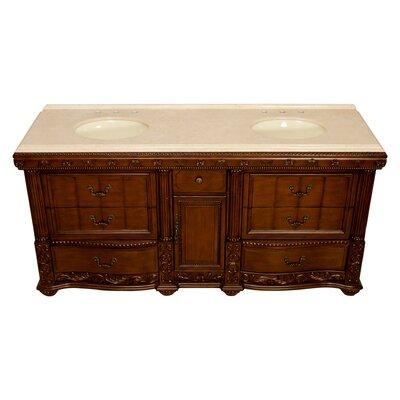 Kendal 72 Double Bathroom Vanity Set