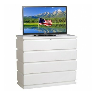 Prism 49 TV Stand Color: White