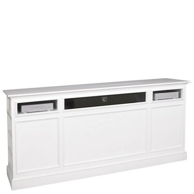 Suite TV Stand Finish: White