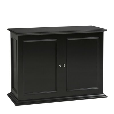 Sanctuary 50 TV Stand Color: Black