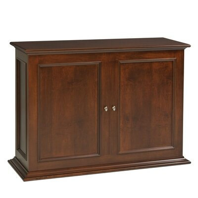 Sanctuary 50 TV Stand Color: Brown